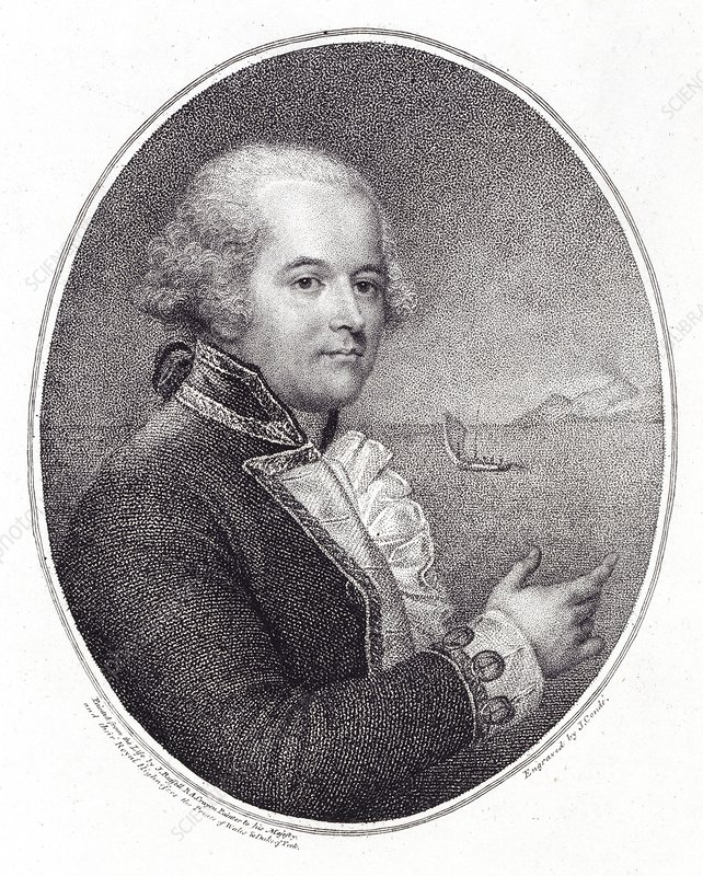 William Bligh, British naval officer