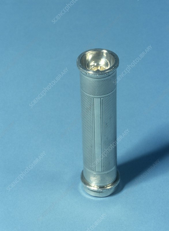 Silver torch, 20th century