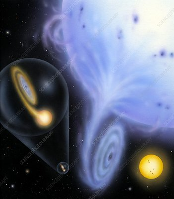Cataclysmic variable star systems