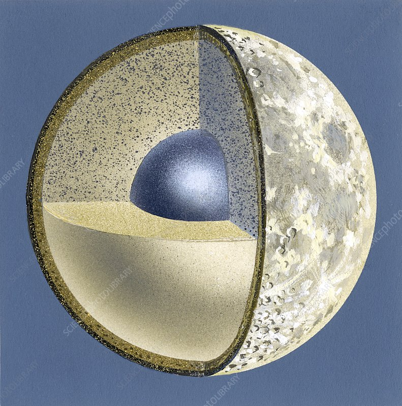 Moon structure, artwork