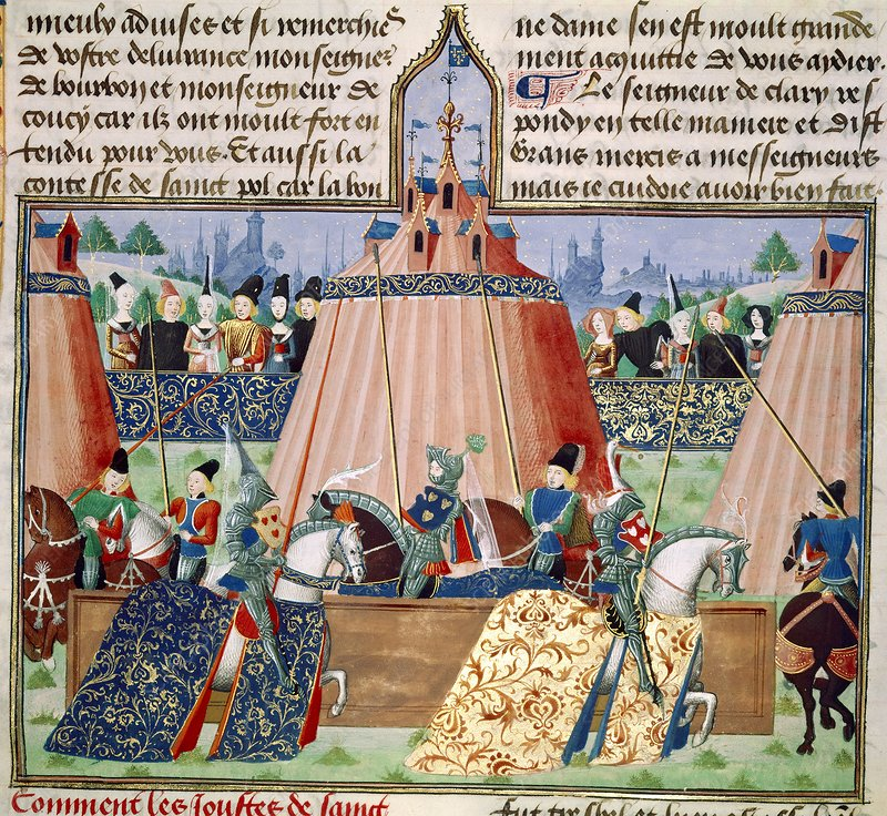 St Inglevert jousting tournament, 1390