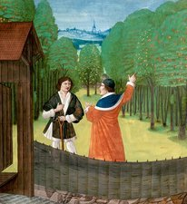 Orchard horticulture, 15th century