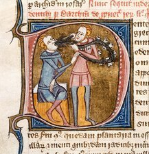 Dentistry, 14th-century manuscript