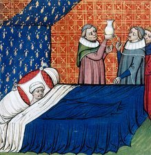 Illness of Duke of Normandy, 14th century