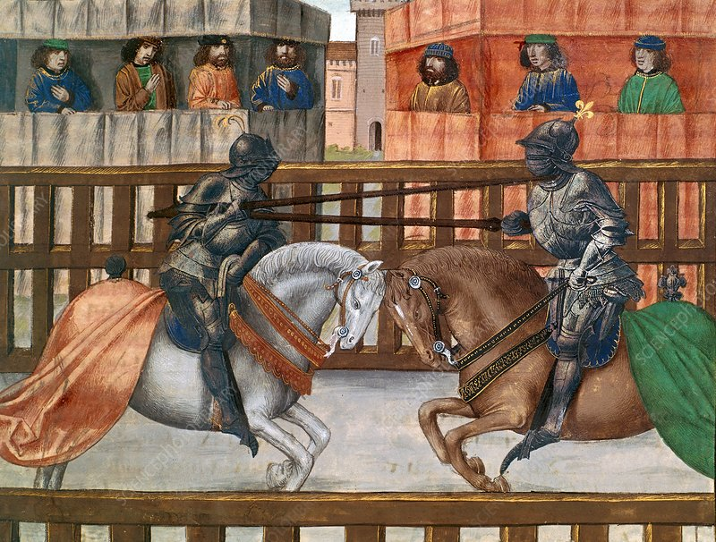 English-French joust in 1381
