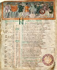 Month of December, Anglo-Saxon calendar