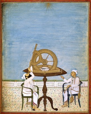 Observing the stars in India, 1840s
