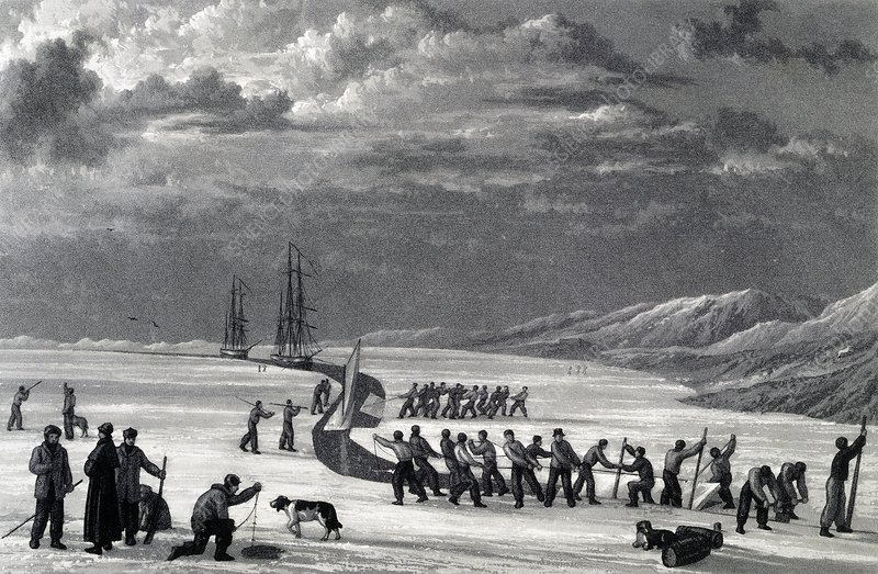Parry's 1st Arctic expedition, 1819-1820