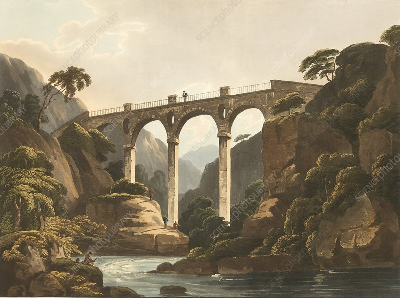 Llantrissent Bridge, Wales, 1811
