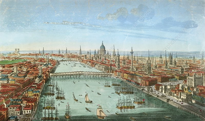 River Thames, London, 18th century