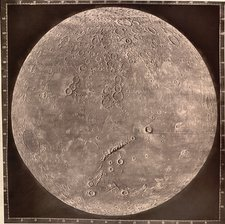 Photograph of the Moon, 1870