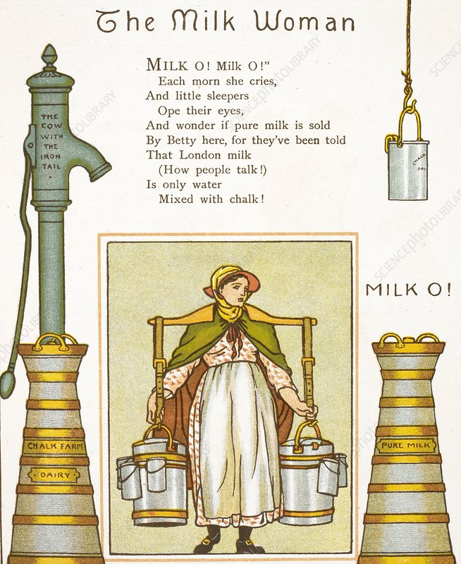 Fake milk, 1880s poem