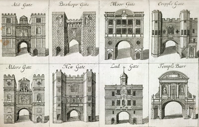 Gates to the City of London, artwork