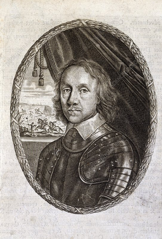 Oliver Cromwell, English politician