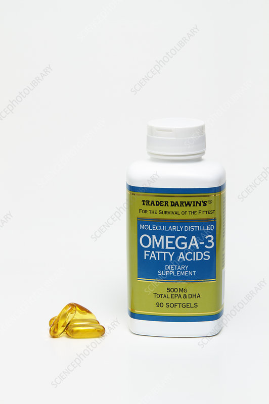 Omega-3 fatty acids dietary supplement