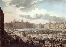 Smithfield Market, London, 1811