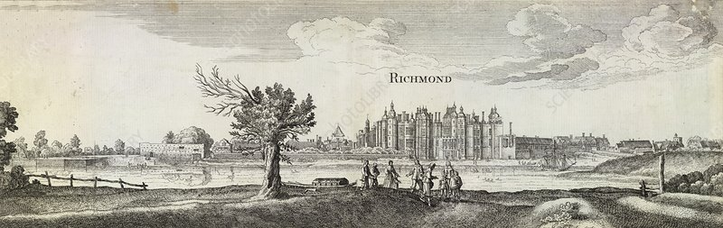 Old Palace of Richmond, artwork