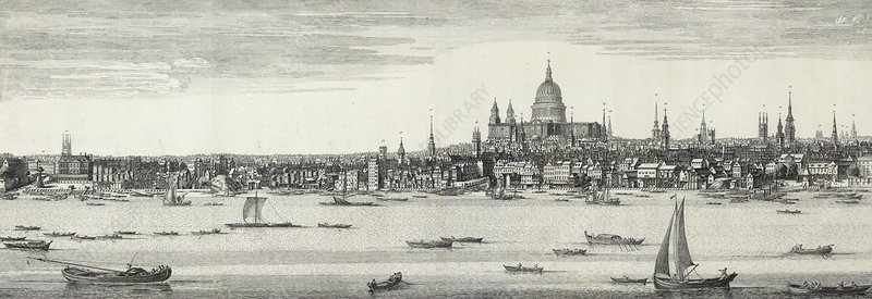 St Paul's Cathedral, 18th century artwork
