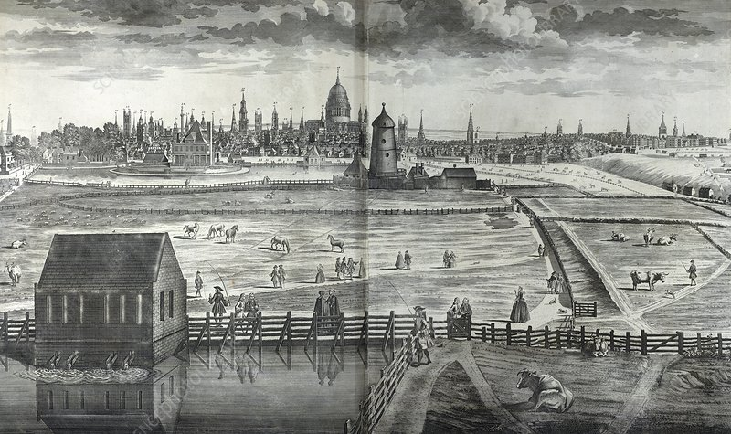 City of London, 18th century artwork