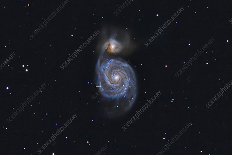 Supernova SN2011dh in M51
