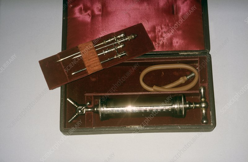 Aspirator with needles, 19th century