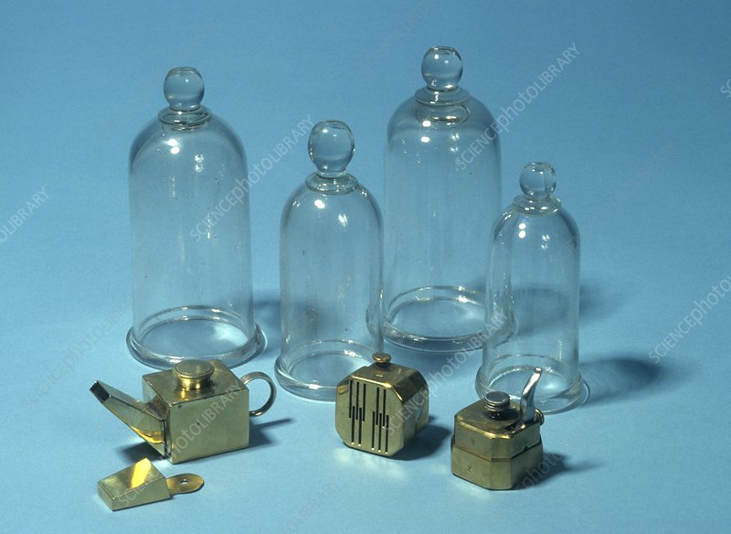 Cupping set, 19th century