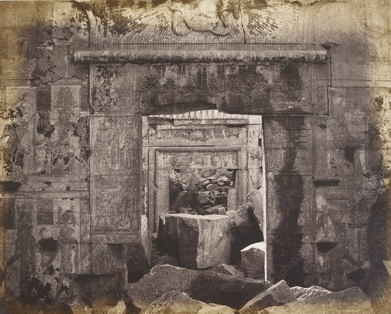Ruins of Temple of Kalabsha, Egypt, 1850s