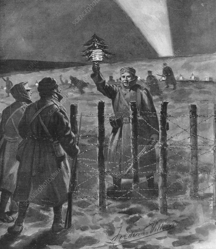Christmas truce in 1914, World War I
