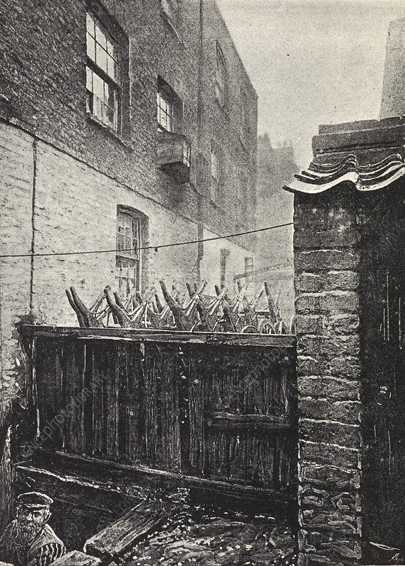 Poverty in London, Bethnal Green, 1890s