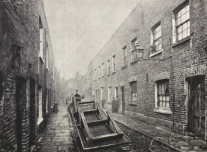 Poverty in London, 1890s