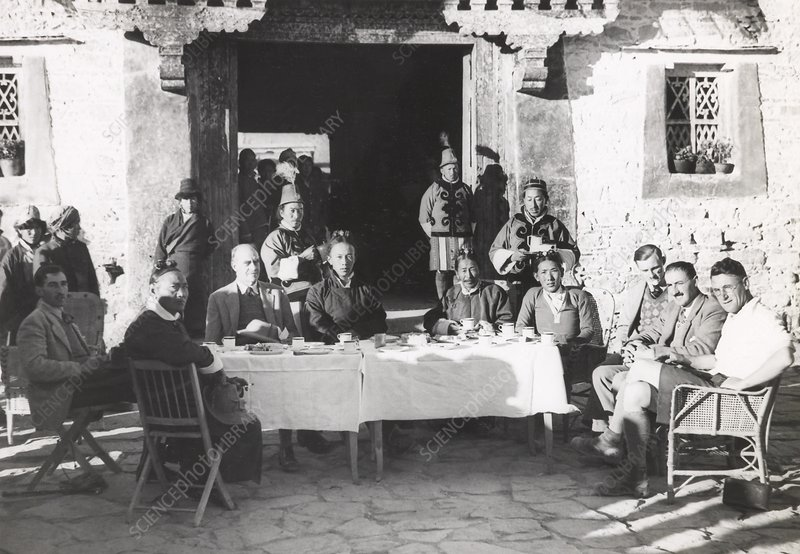 Gould Mission to Lhasa, Tibet, 1936