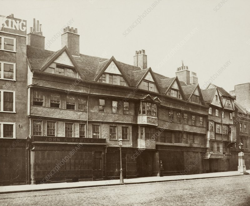 Staple Inn, Holborn, London, 1870s