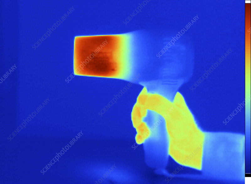 Thermogram of Hair Dryer