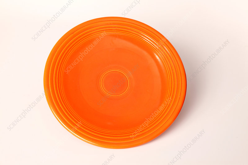 Radioactive Ceramic Plate