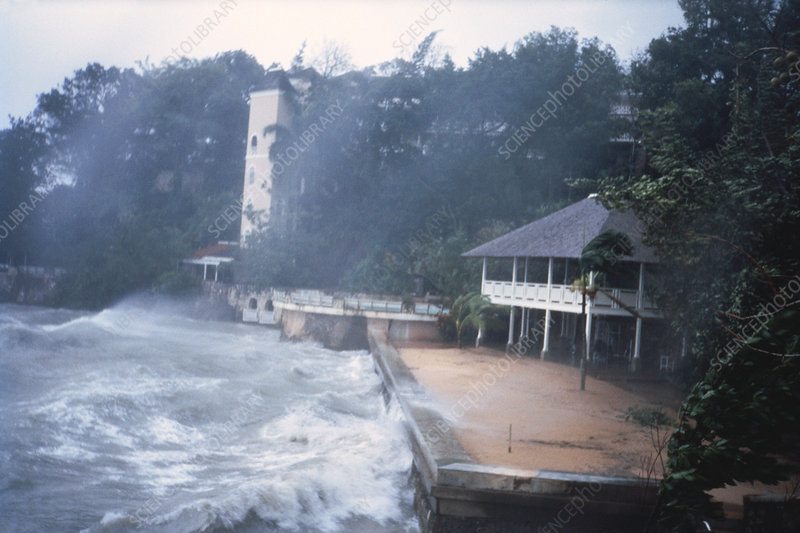 September 10, 1988 – Another Hurricane Named Florence – With Gilbert In The Wings