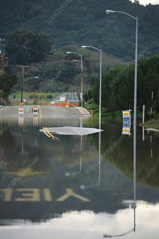 El Nino Flooding Hits Marin County