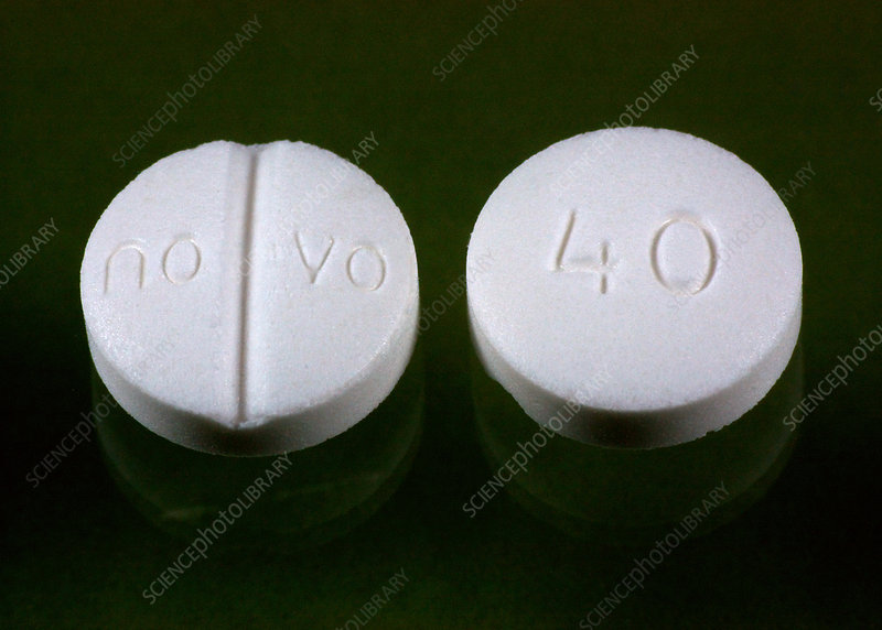 Nadolol, 40 mg Tablets