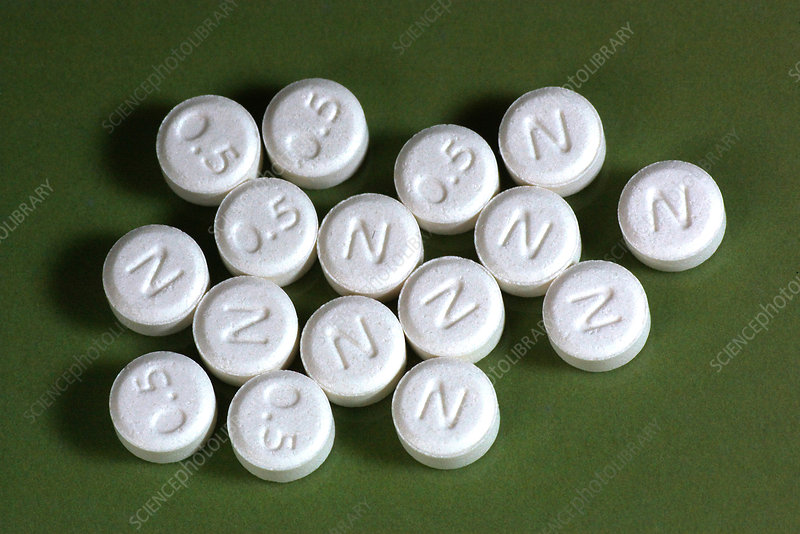 Lorazepam (0.5 mg) tablets