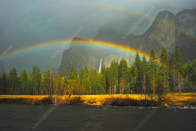 Rainbow, Yosemite National Park