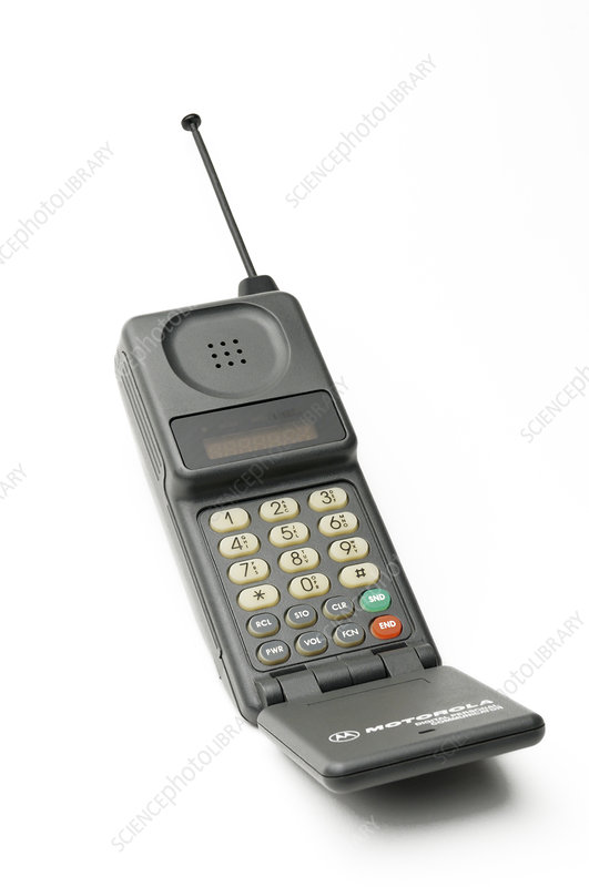 Old cell phone - Stock Image - C017\/5775 - Science Photo Library