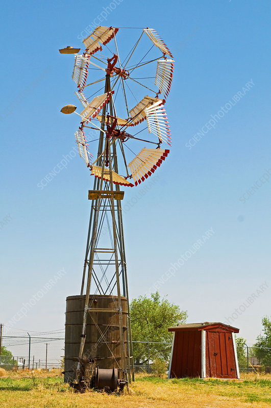 Wind Mills in West Texas