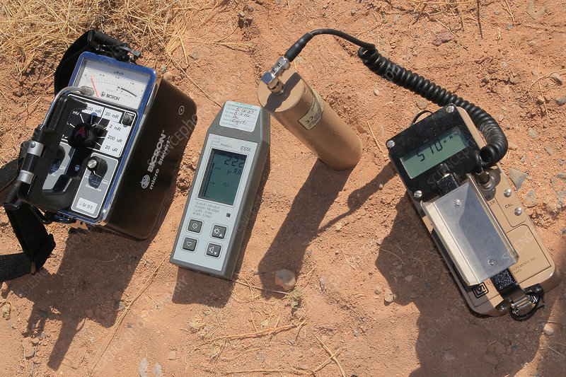 Radiation Samplers, Trinity Site
