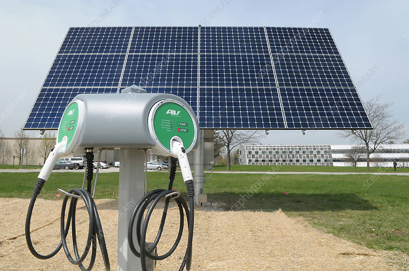 Solar-Powered Charging Station
