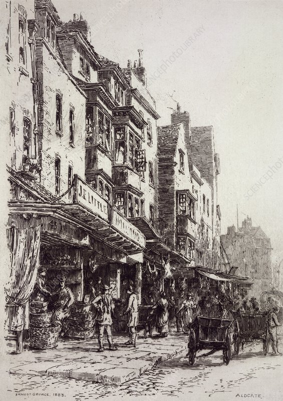Aldgate, London, 19th century