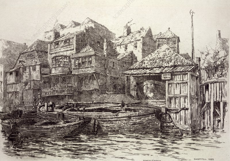 Shadwell, London, 19th century