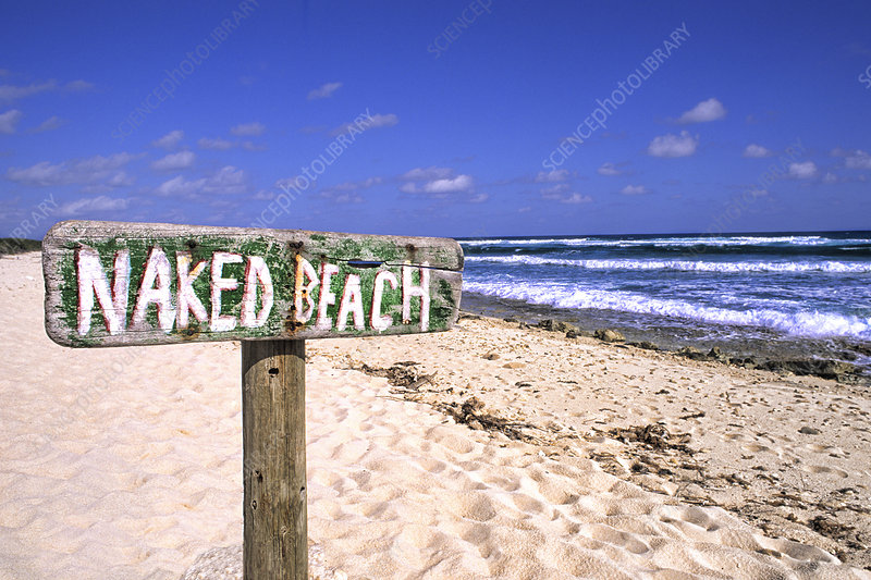 Naked Beach, Cozumel