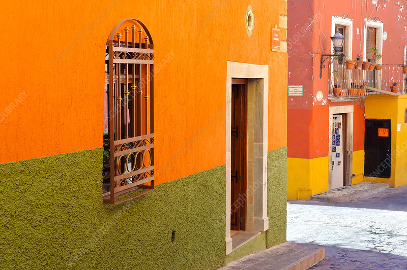 Colourful Street, Mexico