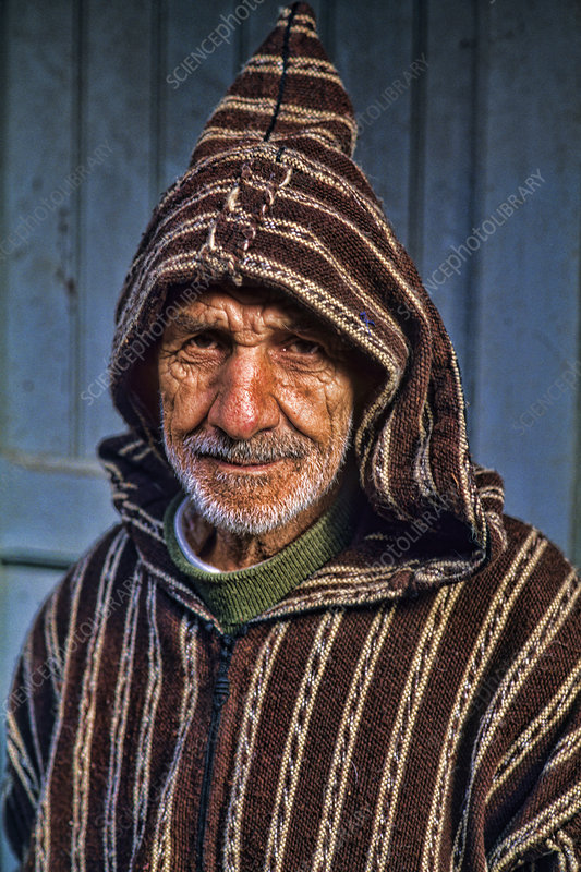 Muslim Man in Morocco, Africa