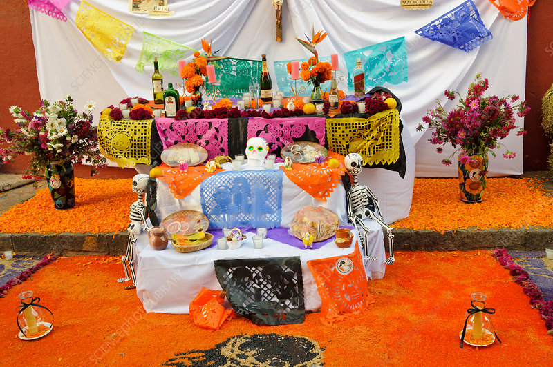 Day of the Dead Altar, Mexico