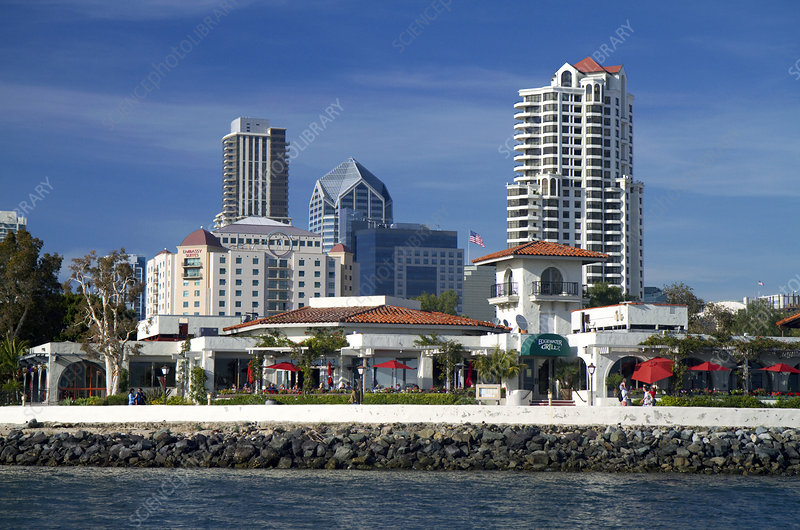 Waterfront Hotels at San Diego